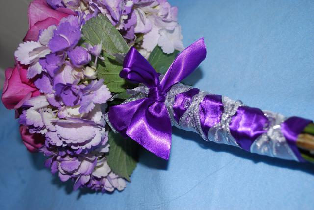 Bridesmaids Bouquets hand tied in a low cost wedding package