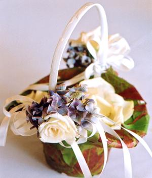 Corsages flower girl hairpieces